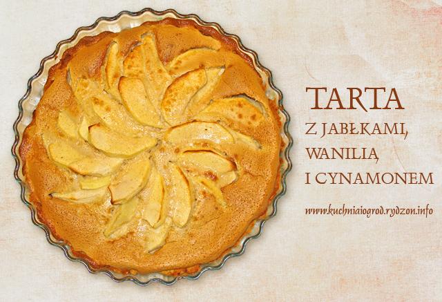 Tarta waniliowo-cynamonowa z jabłkami